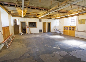 Basement pre-restoration