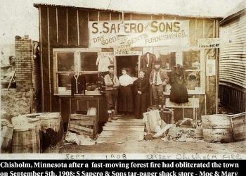 Moe Sapero Chisholm 1908