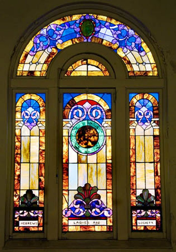 Stained Glass Window another of many)