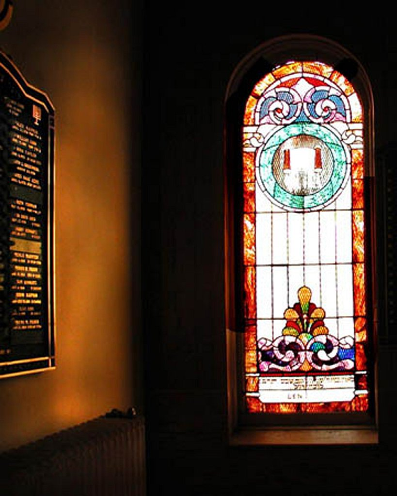 Stained Glass Window (one of many)