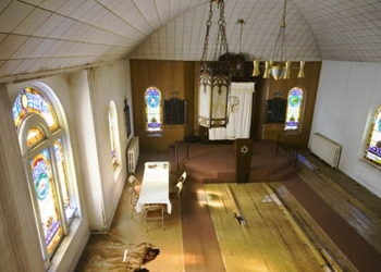 Sanctuary with abacent pews 2006