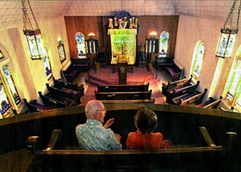 Santuary with pews and cushions 2002